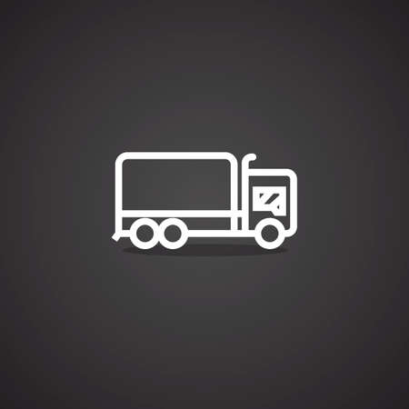 cargo truck: cargo truck Illustration