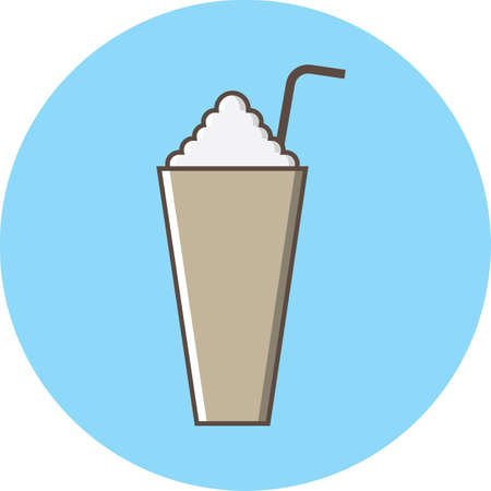 cold coffee: cold coffee with whip cream