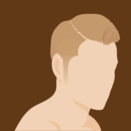haircut: modern man haircut style