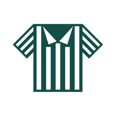 football referee: football referee t-shirt Illustration