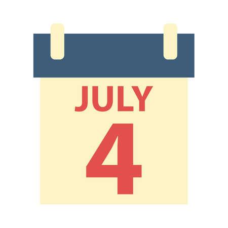 calendario julio: 4 Calendario julio