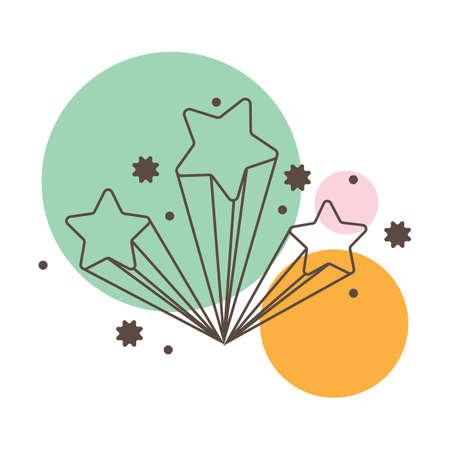 geometrical: geometrical stars Illustration