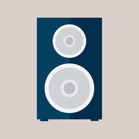 loudspeaker: loudspeaker box Illustration