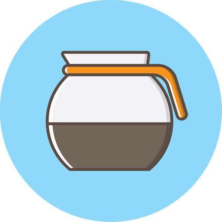 jug: coffee jug Illustration