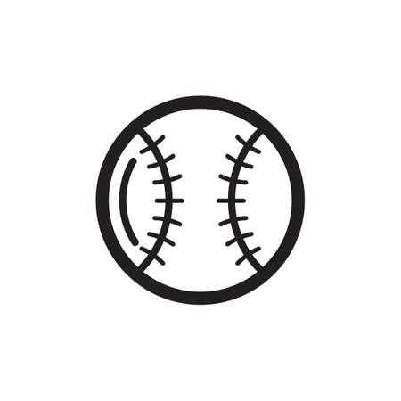 sphere base: base ball Illustration