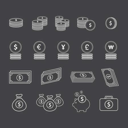 wad: money icons