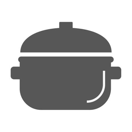 casserole: cooking pot Illustration