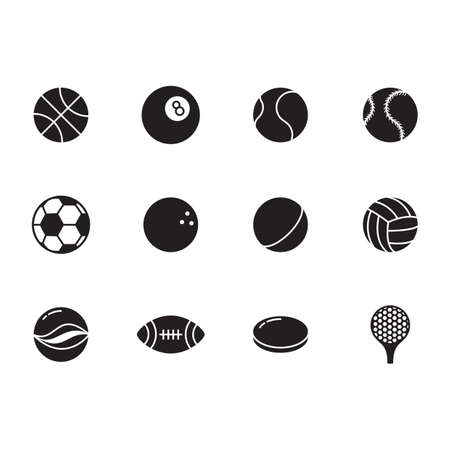 icono deportes: deportivo icono conjunto
