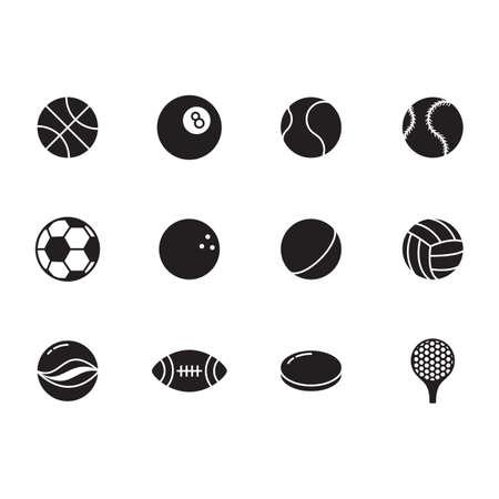 sports icon: sports icon set