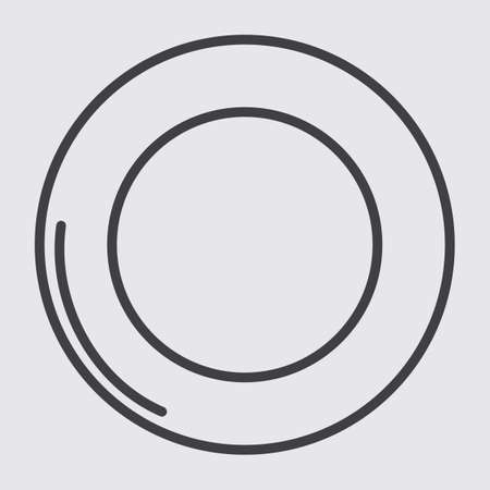 on plate: plate