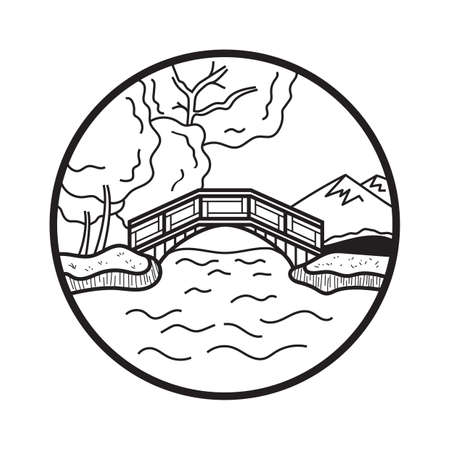 scenics: bridge Illustration