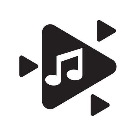 beam: beam musical note Illustration