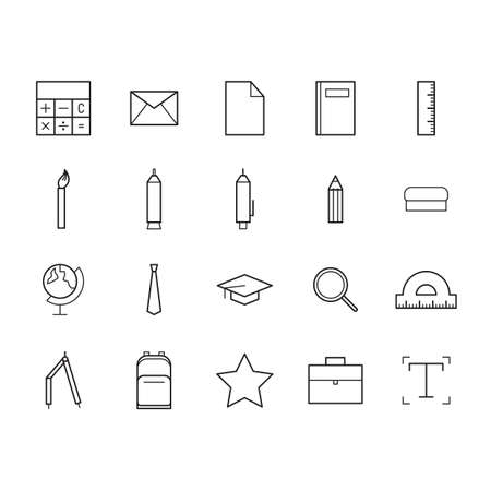 t document: educational icons
