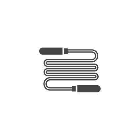 skipping rope: skipping rope Illustration