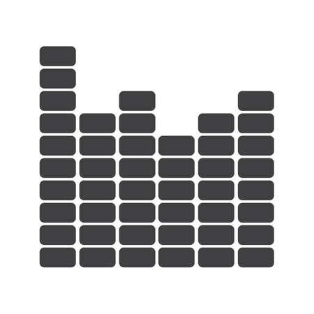 frequencies: equalizer Illustration
