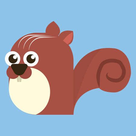 furry tail: squirrel Illustration