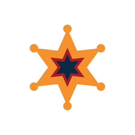 cops: sheriff star badge