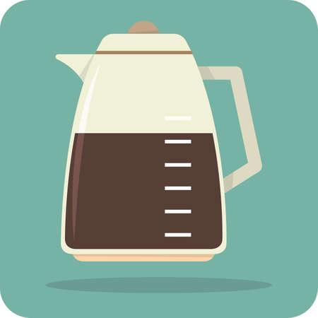 jug: measuring coffee jug Illustration