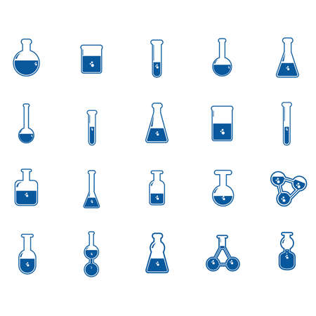 testtube: educational icons