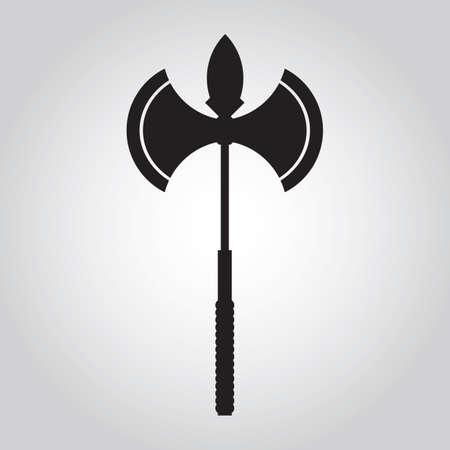 double headed: double headed battle axe