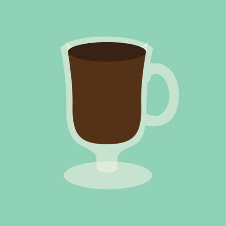flavours: coffee cup Illustration