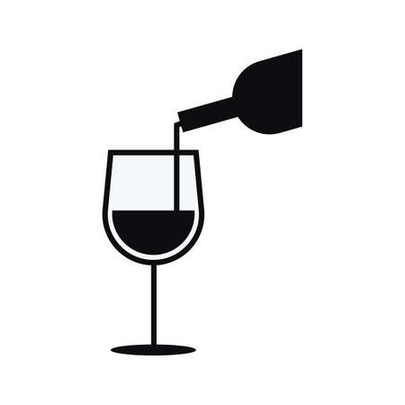 pouring: wine pouring in a glass