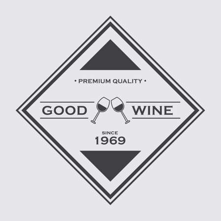 good: good wine label