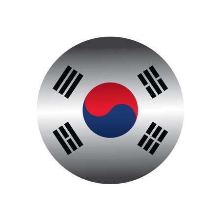 korean national: korean flag