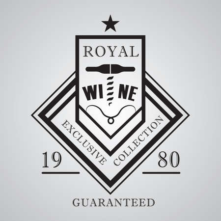 exclusive collection: royal wine label