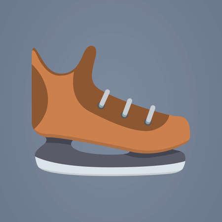 ice skates: ice skates