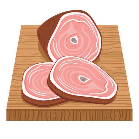 chopping: chicken on chopping board