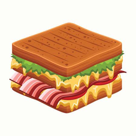 refreshments: sandwich