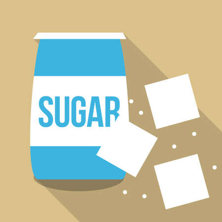 sugar cube: sugar cubes with package