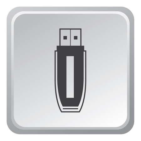 pen drive: pen drive Illustration