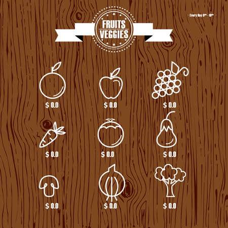 price list: fruit and vegetable price list