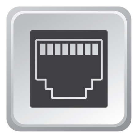 port: ethernet port Illustration