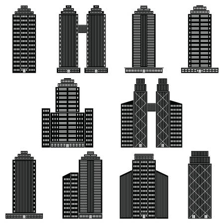 multistory: office buildings collection
