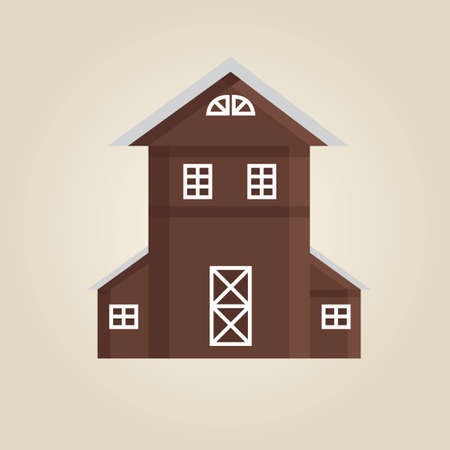 barn wood: house