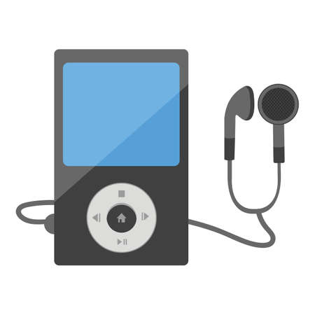 mp3 player: mp3 player with headphones