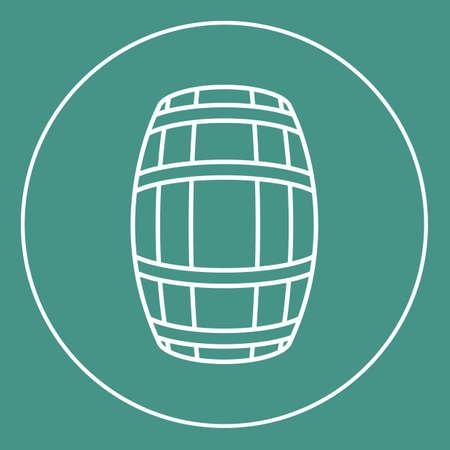 distillery: wine barrel icon