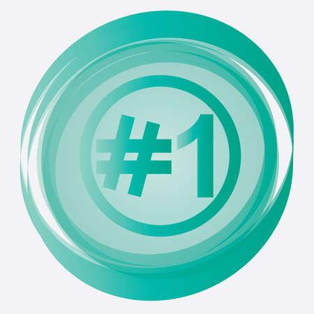 achievment: number one button
