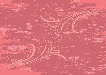 floral grunge: floral grunge background