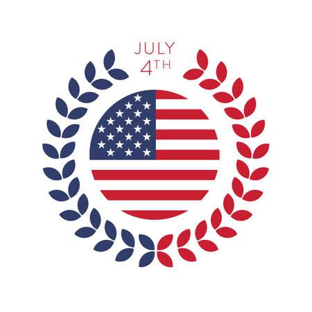 july 4th: july 4th label