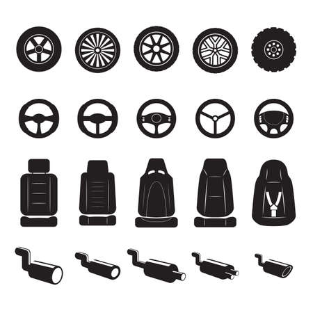 automobile equipment set