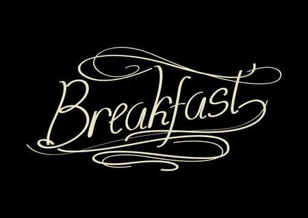 word: word breakfast