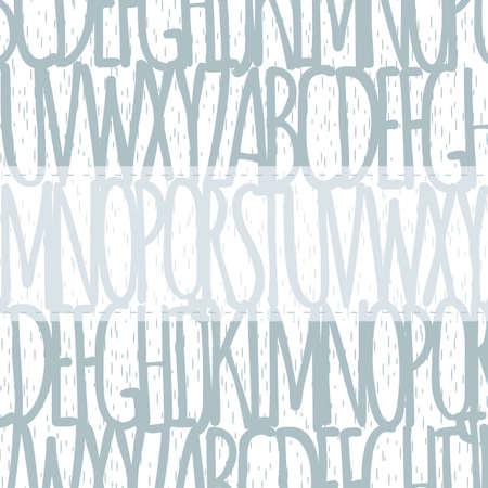 alfabeto de fondo