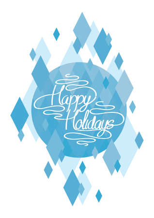 getaways: happy holiday card