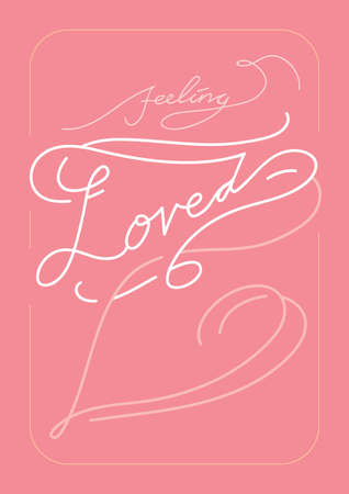 loved: feeling loved card