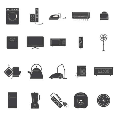iron fan: collection of electronic appliances