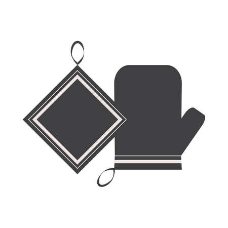 napkin: gloves and napkin
